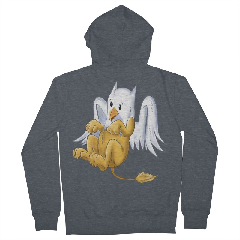 CUTE BABY GRIFFIN Women's French Terry Zip-Up Hoody by droidmonkey's Artist Shop