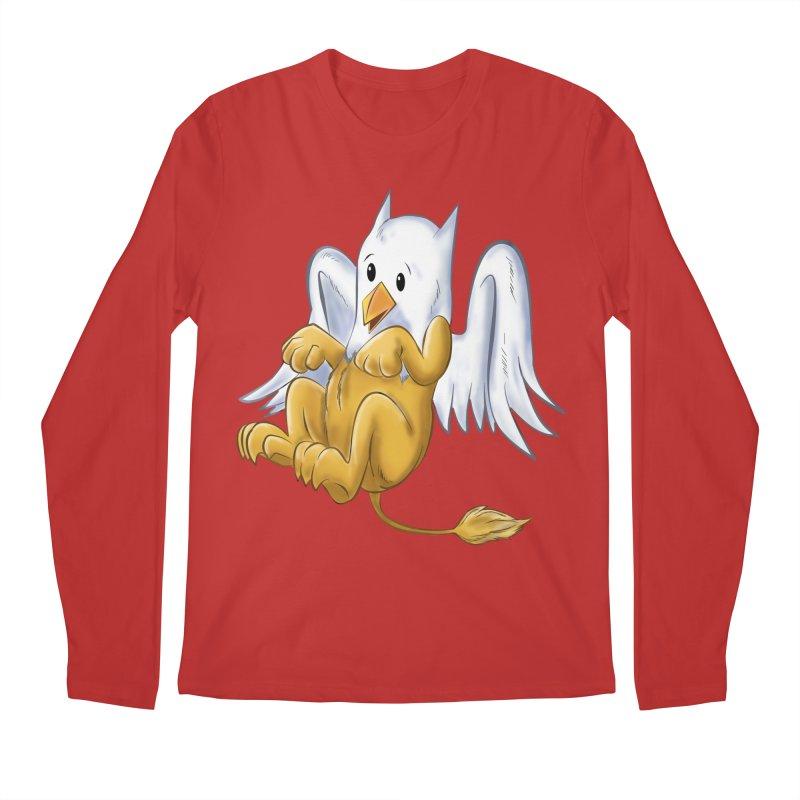 CUTE BABY GRIFFIN Men's Regular Longsleeve T-Shirt by droidmonkey's Artist Shop