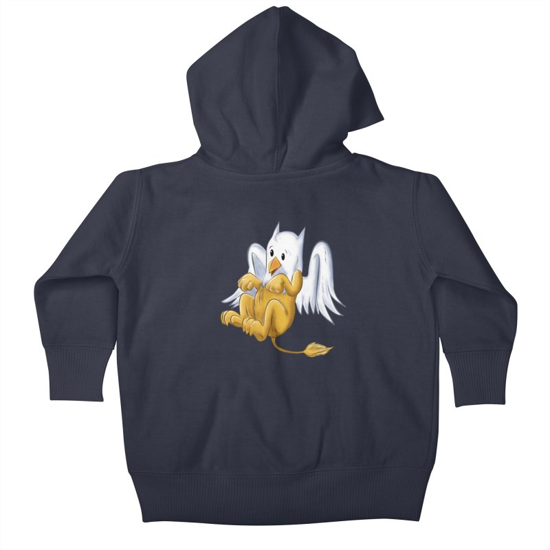 CUTE BABY GRIFFIN Kids Baby Zip-Up Hoody by droidmonkey's Artist Shop