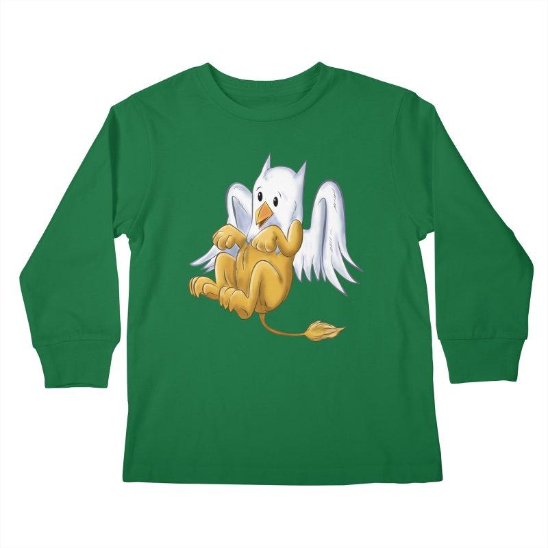 CUTE BABY GRIFFIN Kids Longsleeve T-Shirt by droidmonkey's Artist Shop