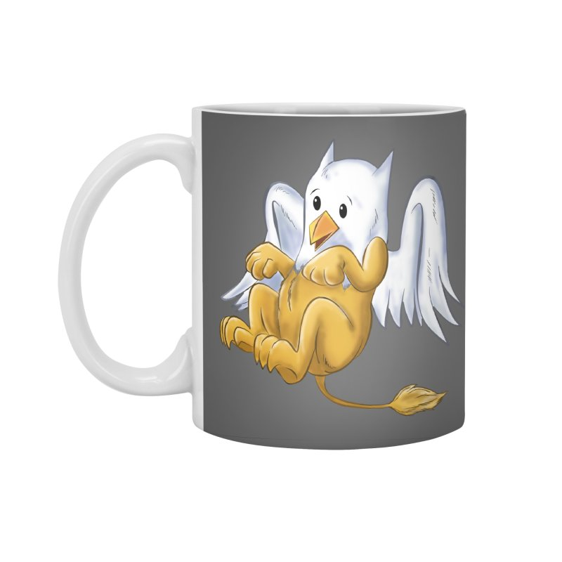 CUTE BABY GRIFFIN Accessories Standard Mug by droidmonkey's Artist Shop