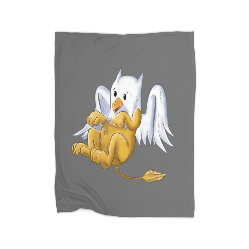 CUTE BABY GRIFFIN Home Fleece Blanket Blanket by droidmonkey's Artist Shop