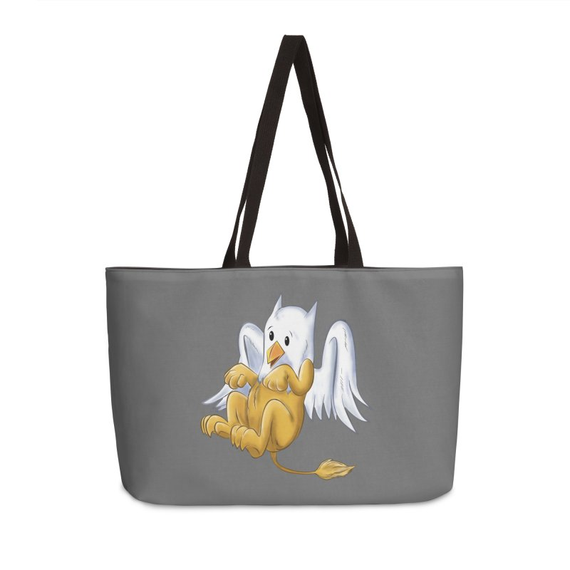 CUTE BABY GRIFFIN Accessories Weekender Bag Bag by droidmonkey's Artist Shop