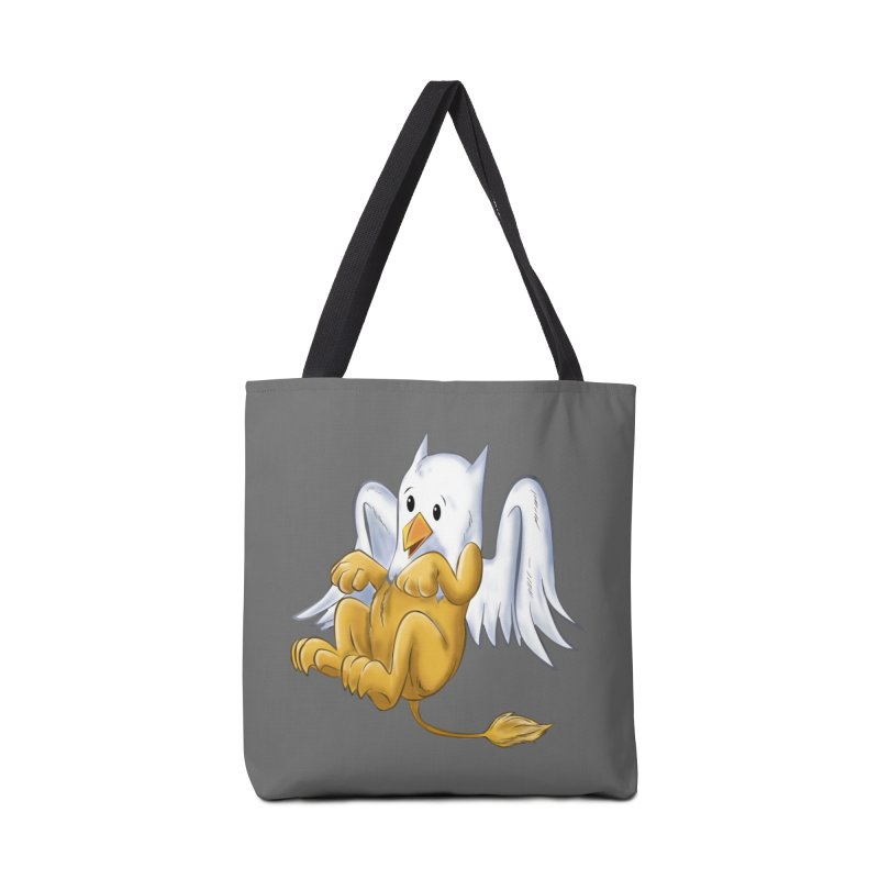 CUTE BABY GRIFFIN Accessories Tote Bag Bag by droidmonkey's Artist Shop