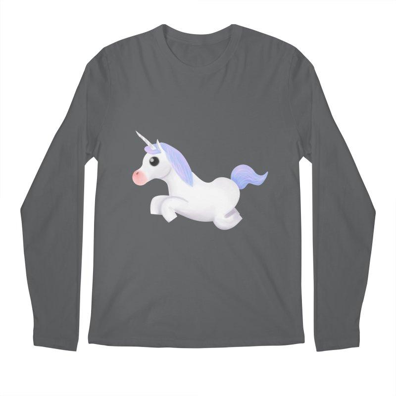 UNICORN Men's Longsleeve T-Shirt by droidmonkey's Artist Shop