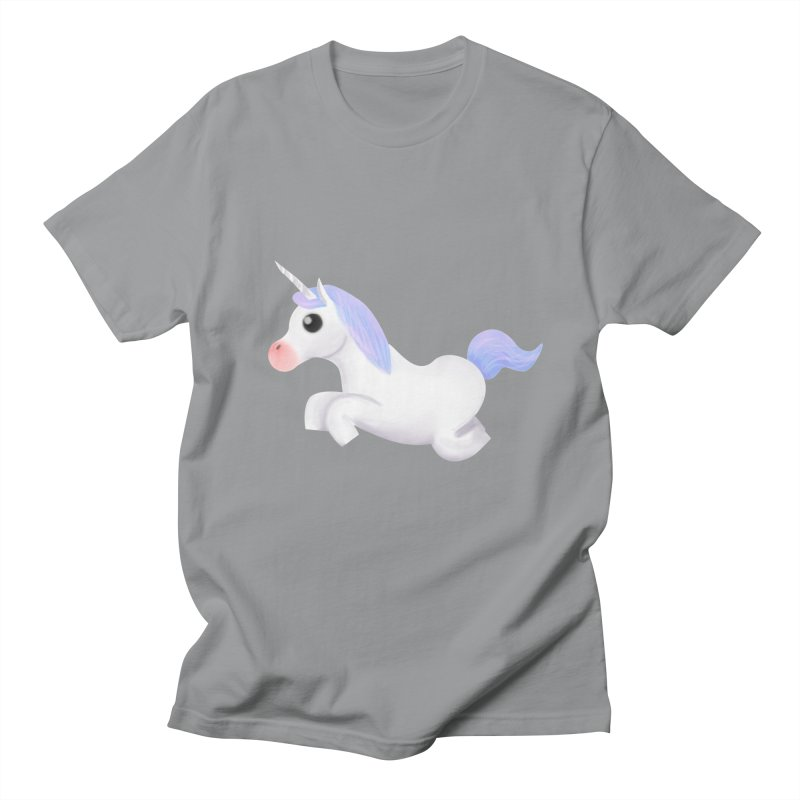 UNICORN Men's T-Shirt by droidmonkey's Artist Shop