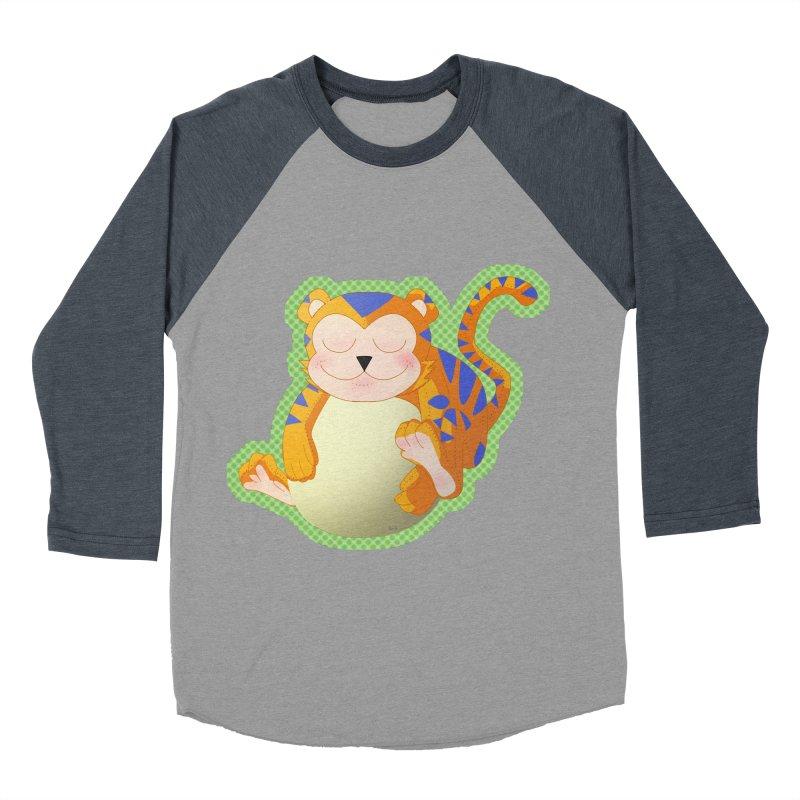 LIL' TIGER Women's Baseball Triblend Longsleeve T-Shirt by droidmonkey's Artist Shop