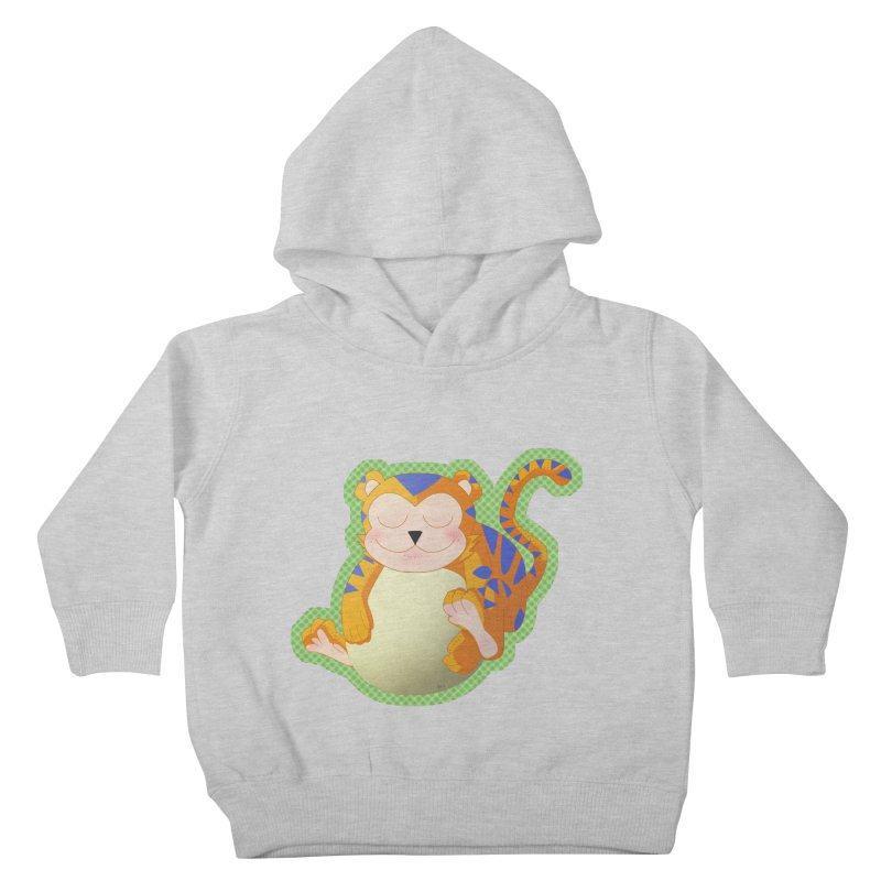 LIL' TIGER Kids Toddler Pullover Hoody by droidmonkey's Artist Shop