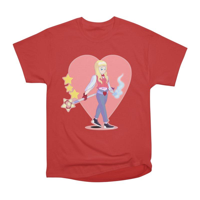 KID OF HEART Men's Heavyweight T-Shirt by droidmonkey's Artist Shop