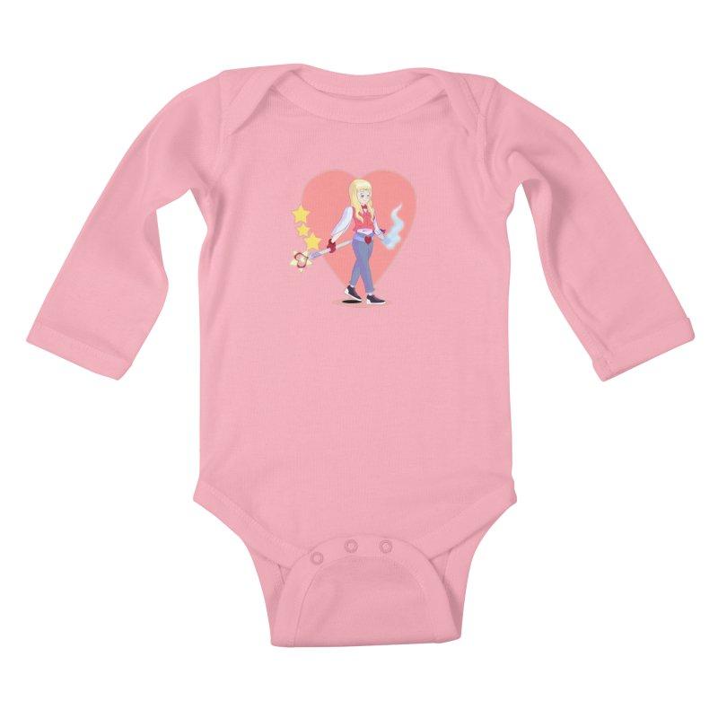 KID OF HEART Kids Baby Longsleeve Bodysuit by droidmonkey's Artist Shop