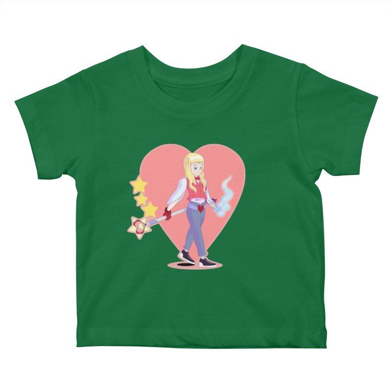 KID OF HEART Kids Baby T-Shirt by droidmonkey's Artist Shop