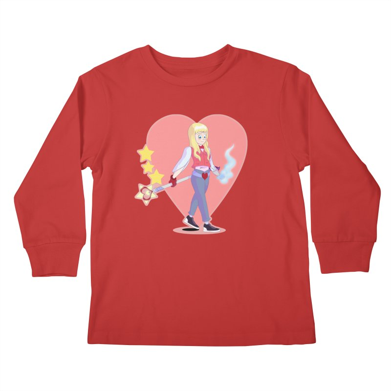 KID OF HEART Kids Longsleeve T-Shirt by droidmonkey's Artist Shop