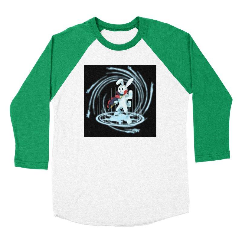 CAPTAIN RABBITFORD OF TE ORDER OF THE PLUSH Women's Baseball Triblend Longsleeve T-Shirt by droidmonkey's Artist Shop