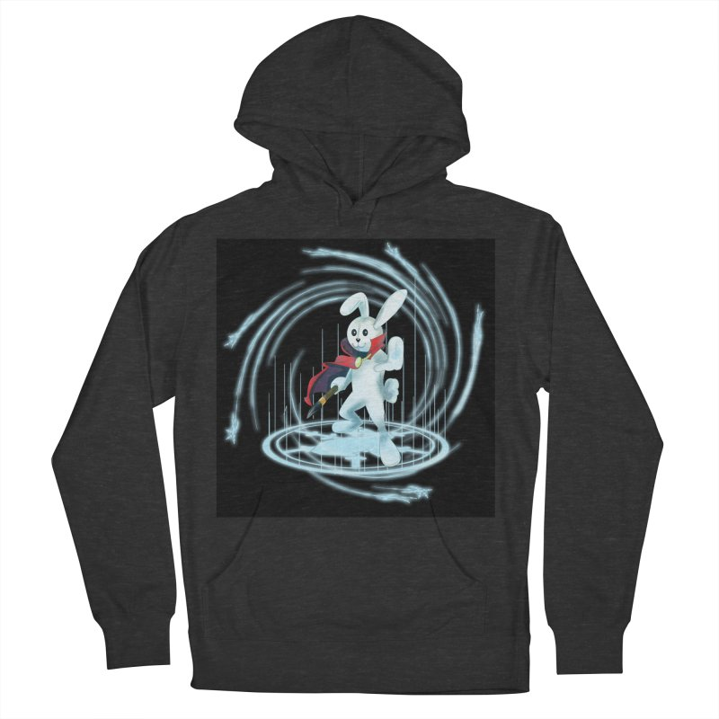 CAPTAIN RABBITFORD OF TE ORDER OF THE PLUSH Women's French Terry Pullover Hoody by droidmonkey's Artist Shop