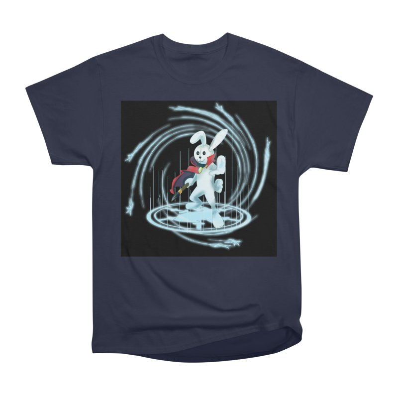 CAPTAIN RABBITFORD OF TE ORDER OF THE PLUSH Women's Heavyweight Unisex T-Shirt by droidmonkey's Artist Shop