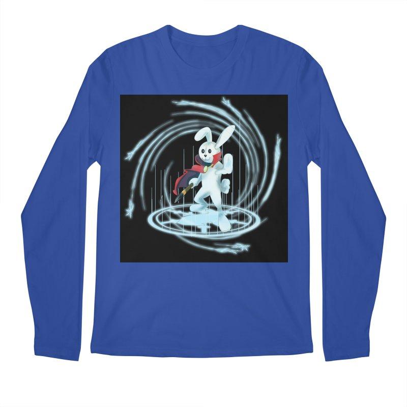 CAPTAIN RABBITFORD OF TE ORDER OF THE PLUSH Men's Regular Longsleeve T-Shirt by droidmonkey's Artist Shop