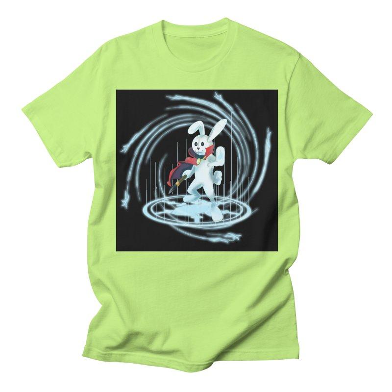 CAPTAIN RABBITFORD OF TE ORDER OF THE PLUSH Women's Regular Unisex T-Shirt by droidmonkey's Artist Shop