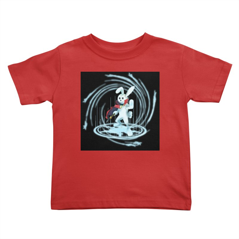CAPTAIN RABBITFORD OF TE ORDER OF THE PLUSH Kids Toddler T-Shirt by droidmonkey's Artist Shop