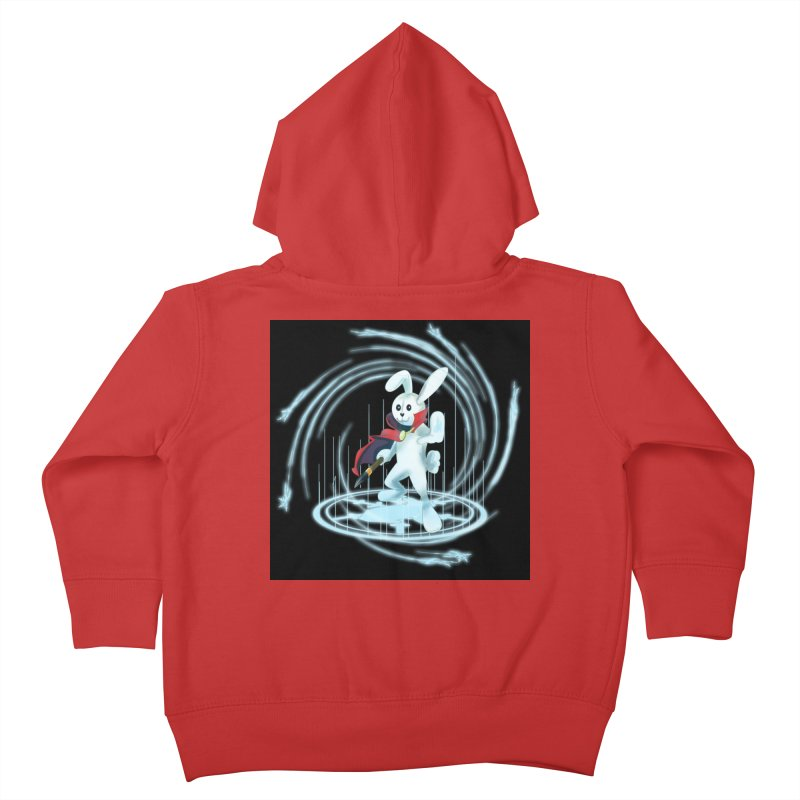 CAPTAIN RABBITFORD OF TE ORDER OF THE PLUSH Kids Toddler Zip-Up Hoody by droidmonkey's Artist Shop