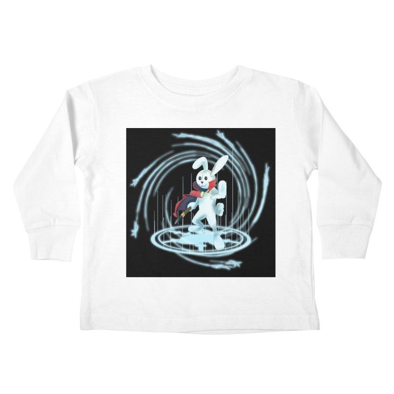 CAPTAIN RABBITFORD OF TE ORDER OF THE PLUSH Kids Toddler Longsleeve T-Shirt by droidmonkey's Artist Shop