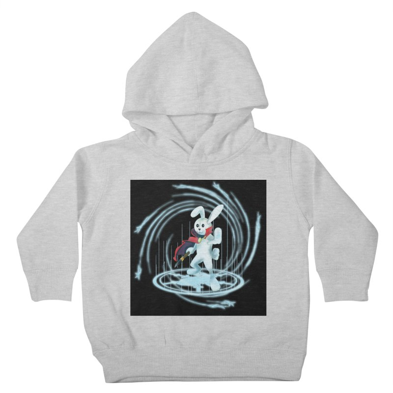 CAPTAIN RABBITFORD OF TE ORDER OF THE PLUSH Kids Toddler Pullover Hoody by droidmonkey's Artist Shop