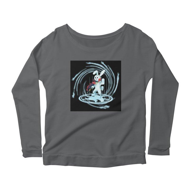CAPTAIN RABBITFORD OF TE ORDER OF THE PLUSH Women's Scoop Neck Longsleeve T-Shirt by droidmonkey's Artist Shop