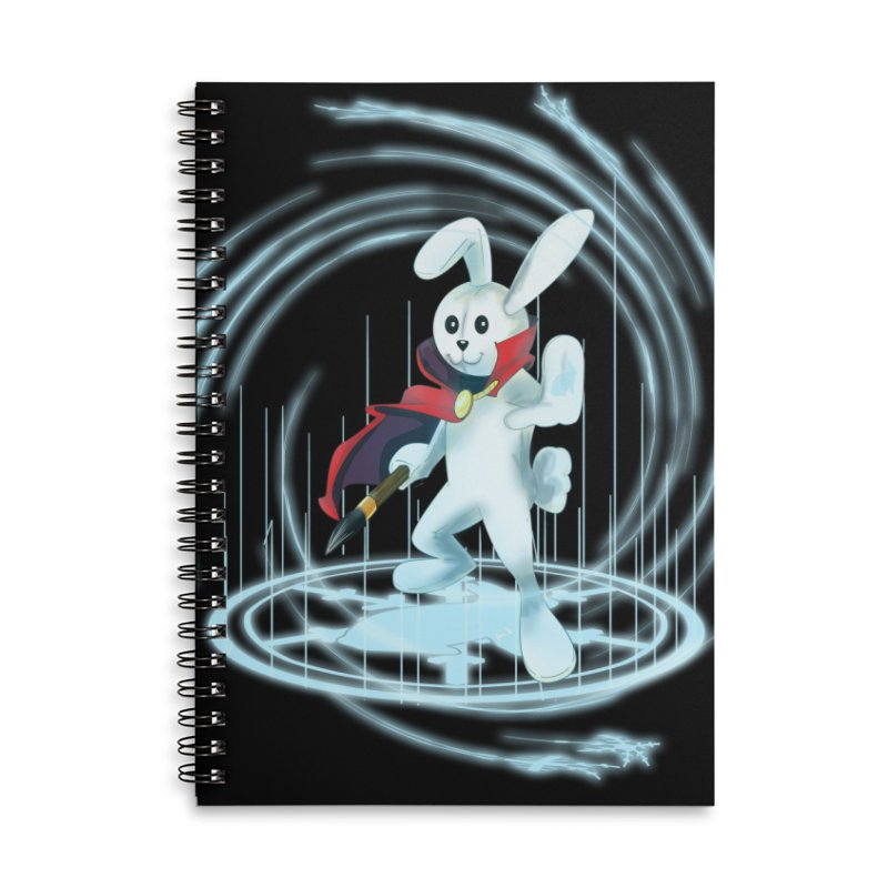CAPTAIN RABBITFORD OF TE ORDER OF THE PLUSH Accessories Lined Spiral Notebook by droidmonkey's Artist Shop