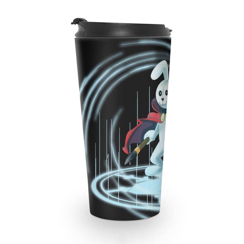 CAPTAIN RABBITFORD OF TE ORDER OF THE PLUSH Accessories Travel Mug by droidmonkey's Artist Shop