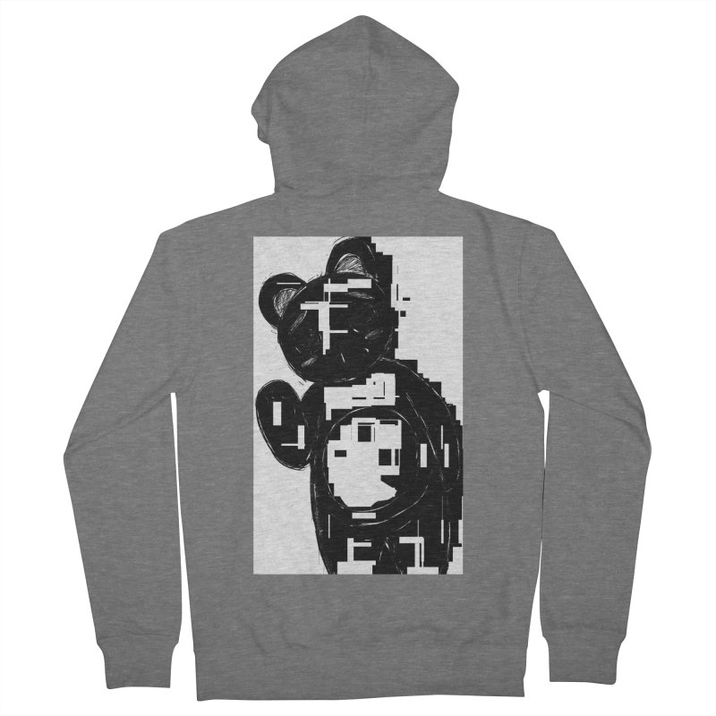 KOMA Women's French Terry Zip-Up Hoody by droidmonkey's Artist Shop