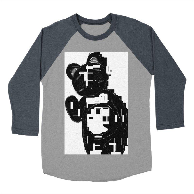 KOMA Women's Baseball Triblend Longsleeve T-Shirt by droidmonkey's Artist Shop