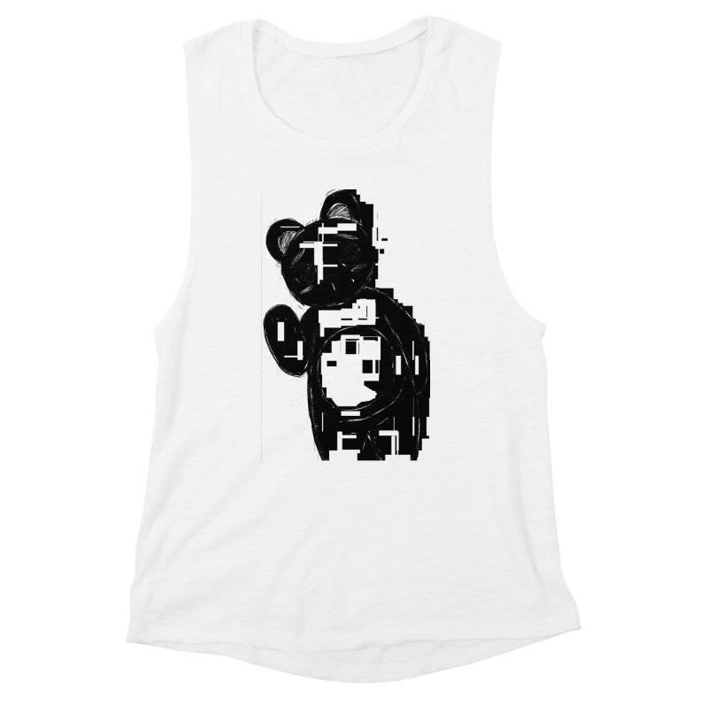 KOMA Women's Muscle Tank by droidmonkey's Artist Shop