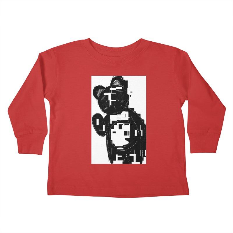 KOMA Kids Toddler Longsleeve T-Shirt by droidmonkey's Artist Shop