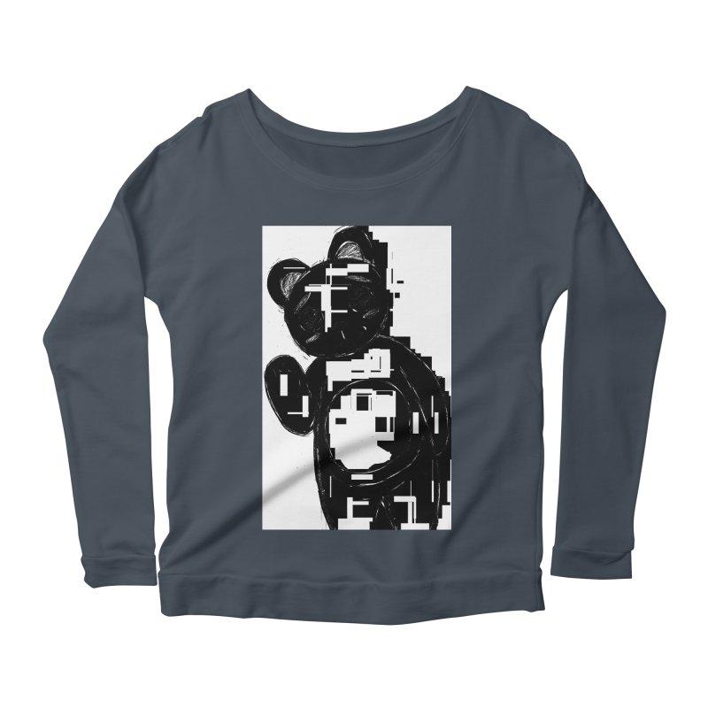 KOMA Women's Scoop Neck Longsleeve T-Shirt by droidmonkey's Artist Shop