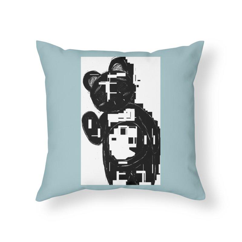 KOMA Home Throw Pillow by droidmonkey's Artist Shop