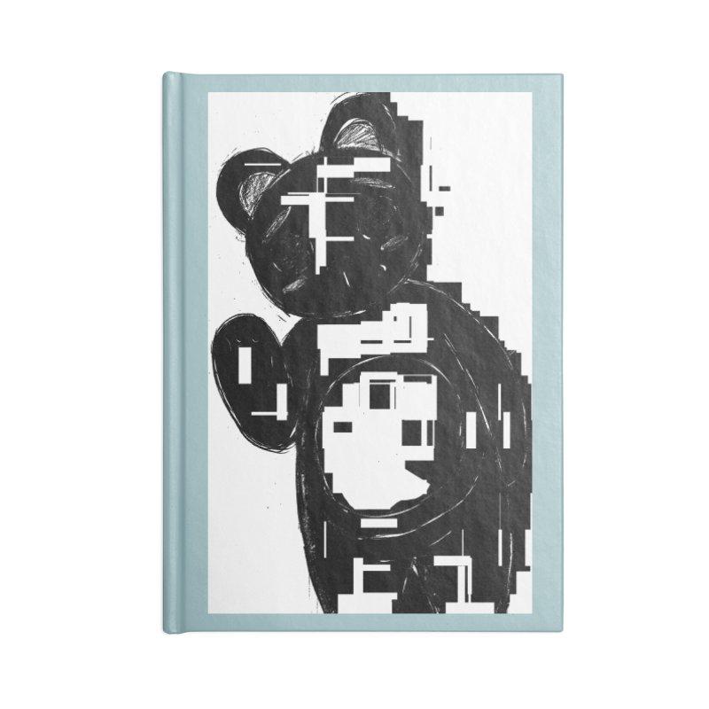 KOMA Accessories Lined Journal Notebook by droidmonkey's Artist Shop