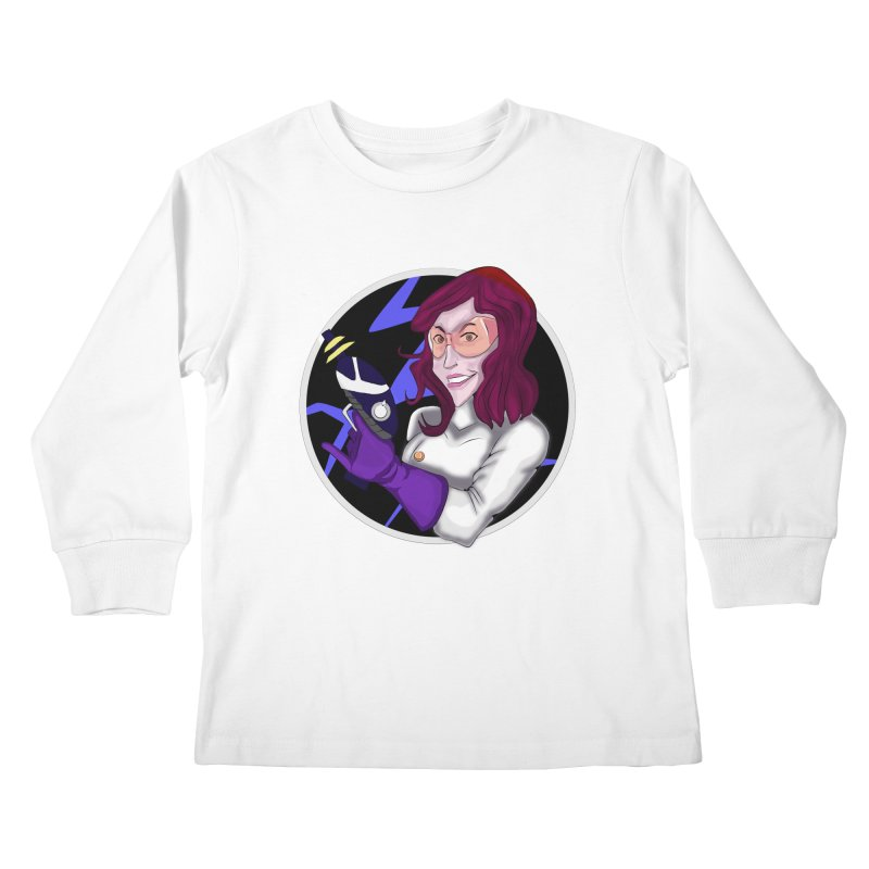 MAD SCIENTIST Kids Longsleeve T-Shirt by droidmonkey's Artist Shop