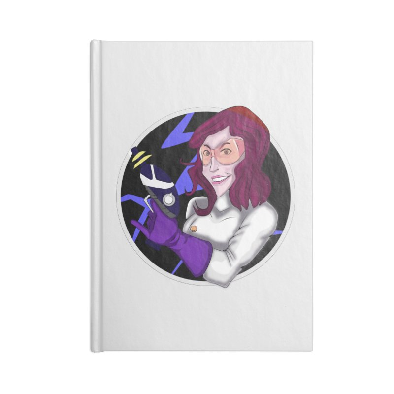 MAD SCIENTIST Accessories Lined Journal Notebook by droidmonkey's Artist Shop