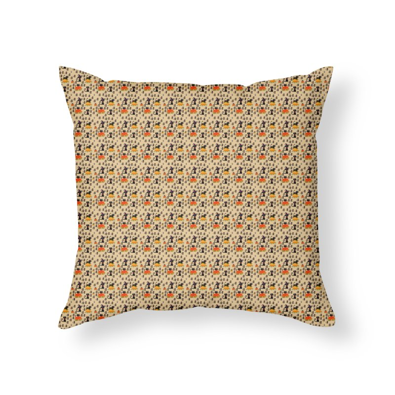 AUTUMN CAT Home Throw Pillow by droidmonkey's Artist Shop