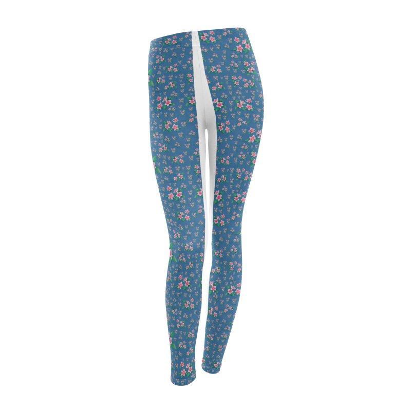SAKURA PATTERN Women's Leggings Bottoms by droidmonkey's Artist Shop