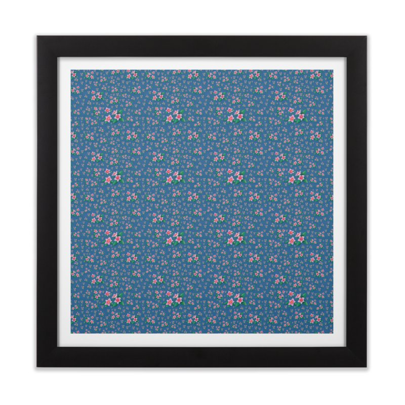 SAKURA PATTERN Home Framed Fine Art Print by droidmonkey's Artist Shop