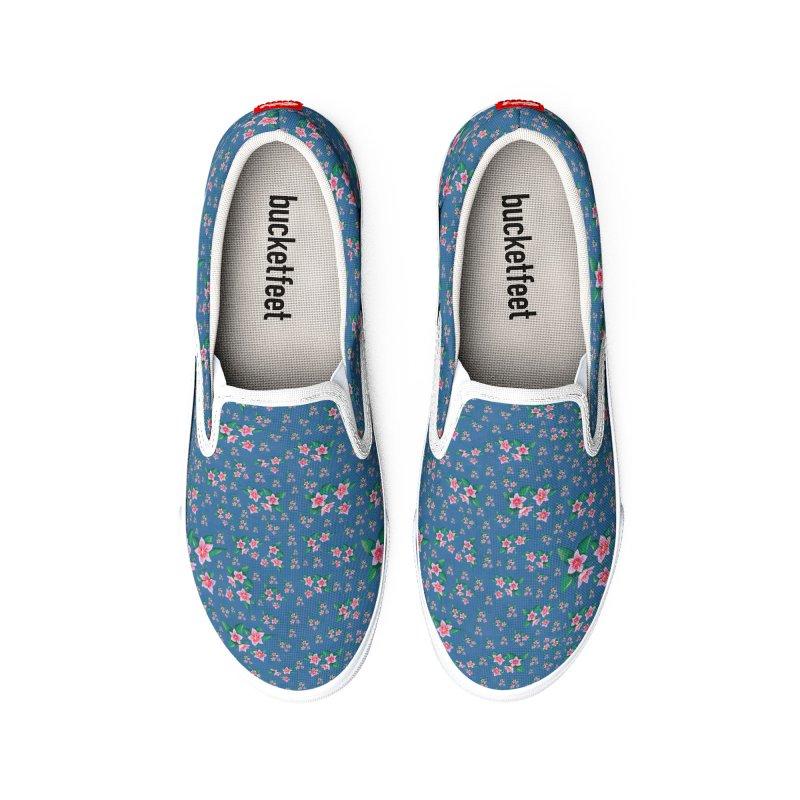 SAKURA PATTERN Men's Shoes by droidmonkey's Artist Shop