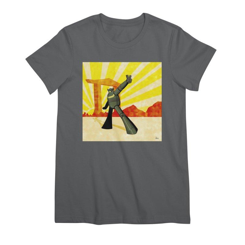Robot Women's Premium T-Shirt by droidmonkey's Artist Shop