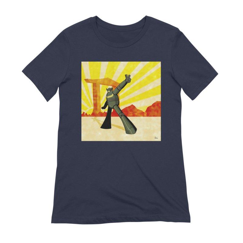 Robot Women's Extra Soft T-Shirt by droidmonkey's Artist Shop