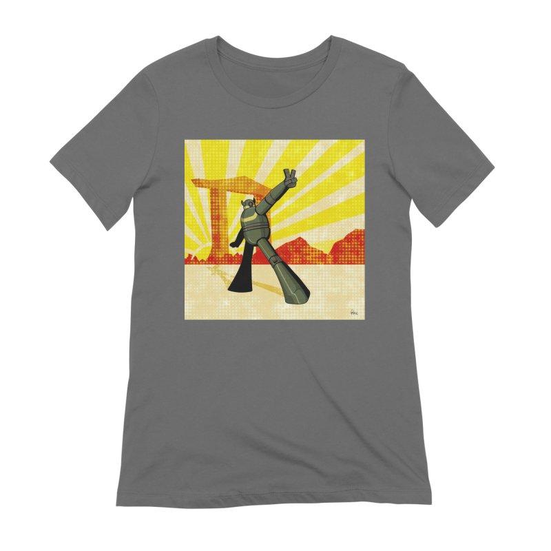 Robot Women's T-Shirt by droidmonkey's Artist Shop
