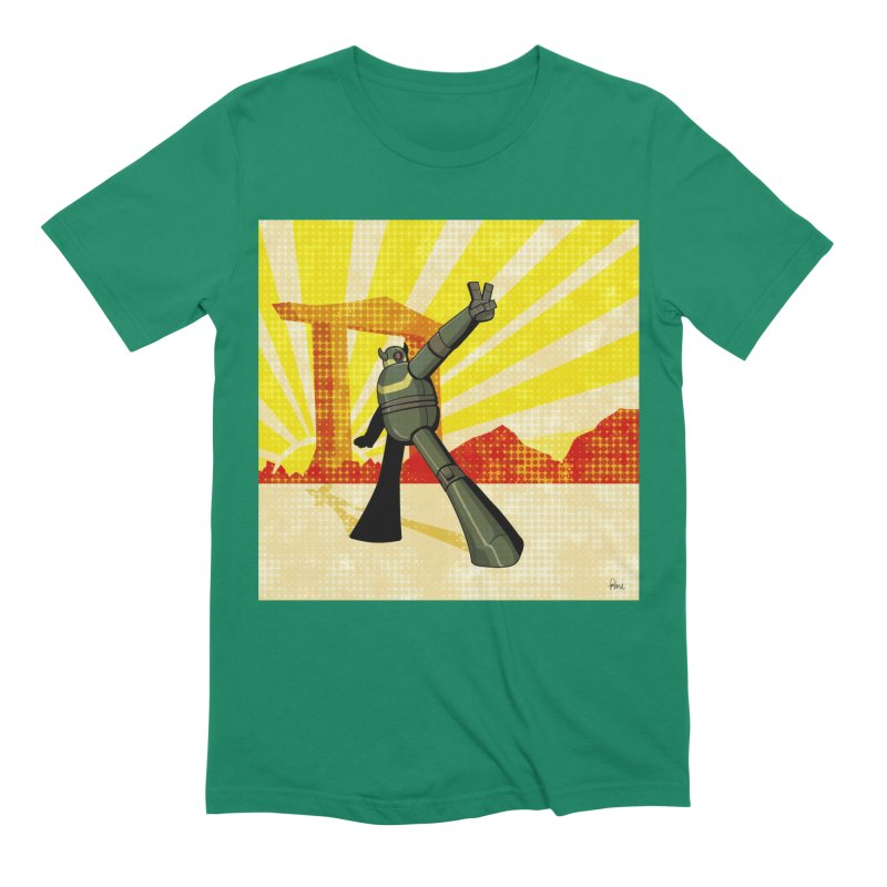 Robot Men's Extra Soft T-Shirt by droidmonkey's Artist Shop
