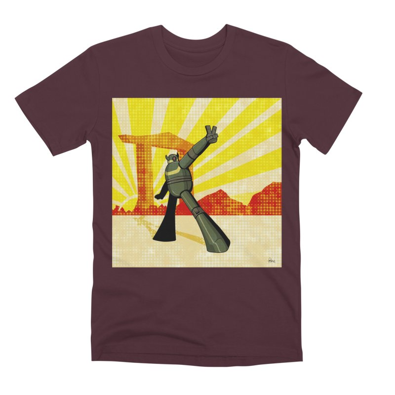 Robot Men's Premium T-Shirt by droidmonkey's Artist Shop