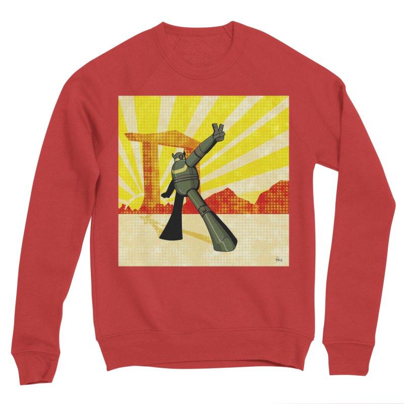 Robot Men's Sponge Fleece Sweatshirt by droidmonkey's Artist Shop