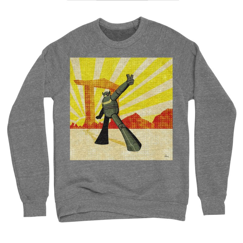 Robot Men's Sponge Fleece Sweatshirt by droidmonkey's Artist Shop