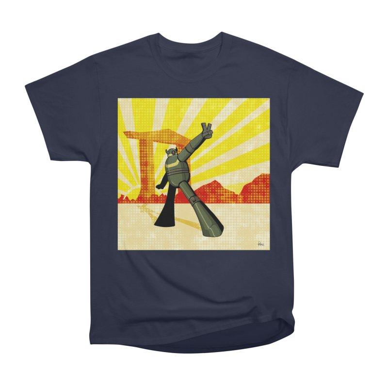 Robot Women's Heavyweight Unisex T-Shirt by droidmonkey's Artist Shop