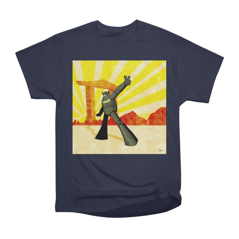 Robot Men's Heavyweight T-Shirt by droidmonkey's Artist Shop